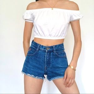 Vintage Shorts - Vintage 90s Cut Off Shorts By Posted